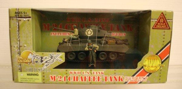 307: 21 st Century 1:32 Scale WWII US Tank M-24 Chaffee