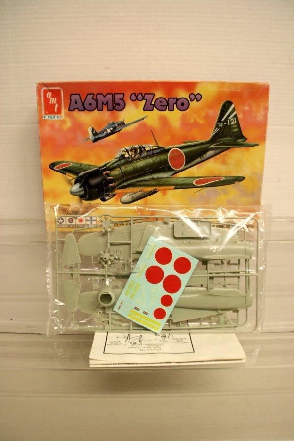 "309: AMT A6M5 "" Zero "" 1/48 Model Kit #8872"