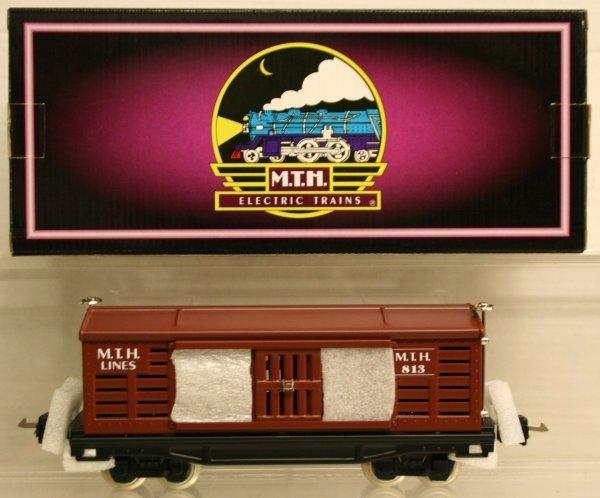 321: MTH Tinplate Traditions O-Gauge No. 813 Stock Car