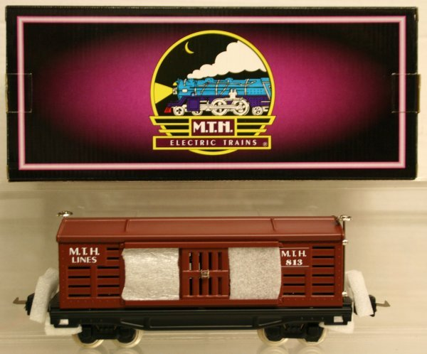 321: MTH Tinplate Traditions O-Gauge No. 813 Stock Car