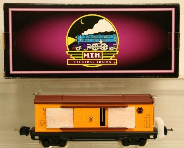 322: MTH Tinplate Traditions O-Gauge No. 814 Box Car 10