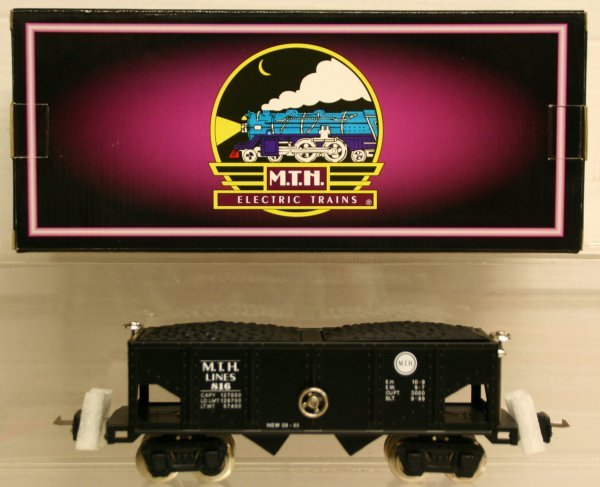 324: MTH Tinplate Traditions O-Gauge No. 816 Hopper Car