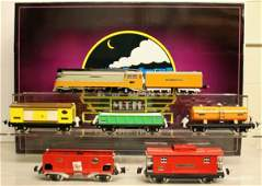 367: MTH Tinplate Traditions O-Gauge Hiawatha Freight S