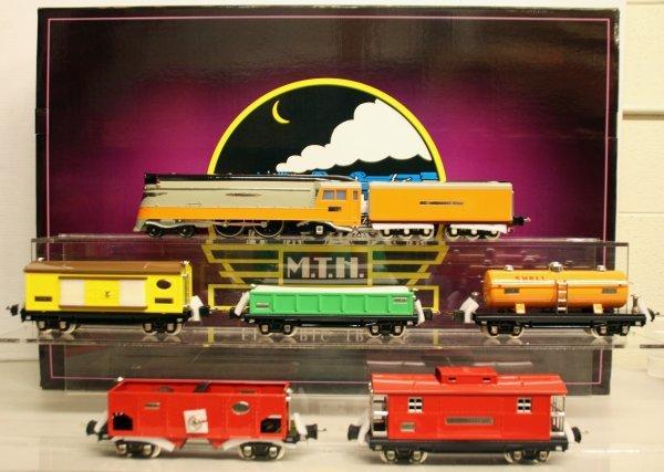 367: MTH Tinplate Traditions O-Gauge Hiawatha Freight S