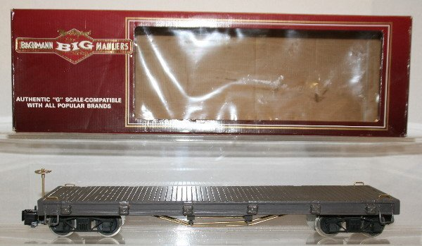 500: G-Gauge Custom Built Wood Flat Car