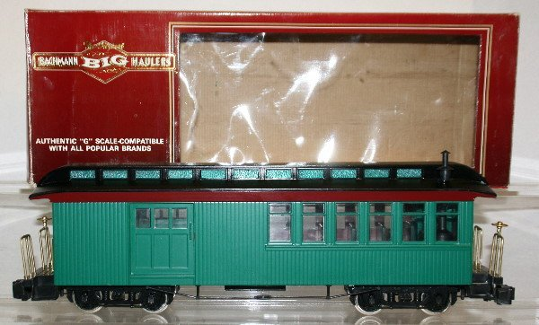 501: Bachmann G-Gauge Combine With Lights