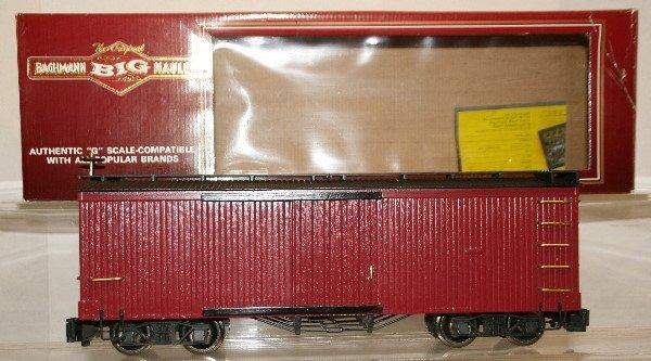 505: Bachmann G-Scale Boxcar Custom Painted