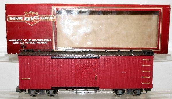 507: Bachmann G-Scale Boxcar Custom Painted