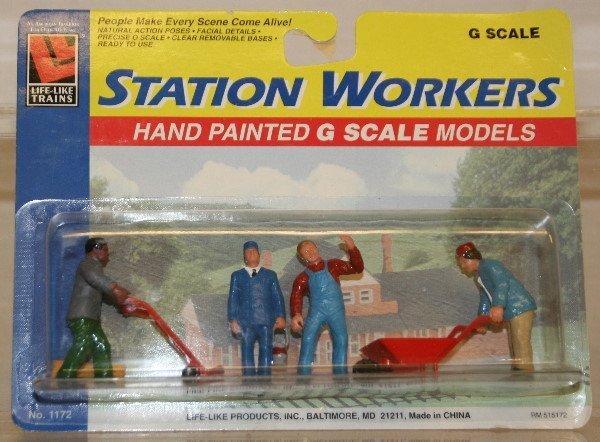 508: Life-Like Station Workers G Scale