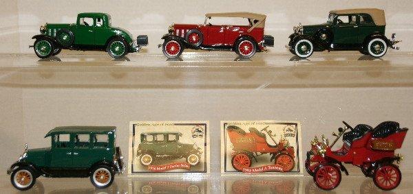 510: Lot of 5 Model Cars