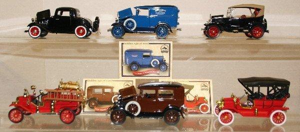511: Lot of 6 Model Cars