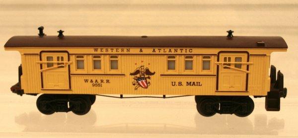 808: Lionel O Scale 6-9551 Western & Atlantic Baggage C