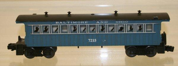 810: Lionel O Scale B & O Passenger Car
