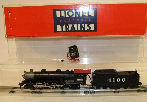 813: Lionel O Scale Frisco Mikado Locomotive & Tender