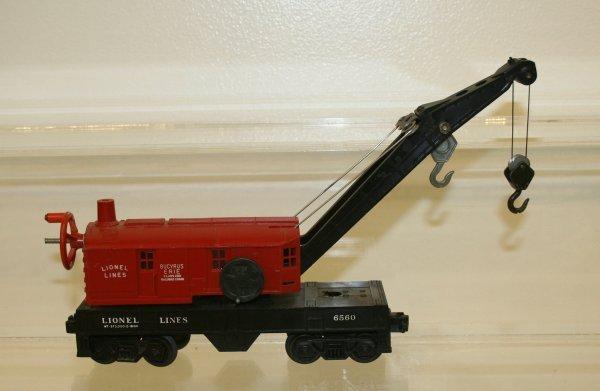 817: Lionel O Scale Bucyrus Erie Crane