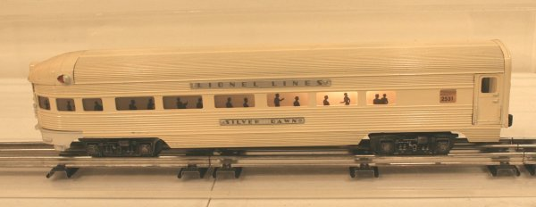 819: Lionel 2531 Silver Dawn Observation Car