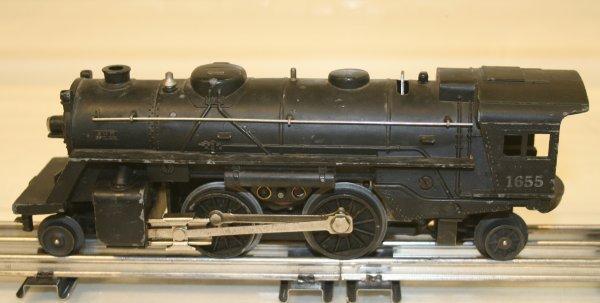820: Lionel O Scale 1655 Postwar Locomotive