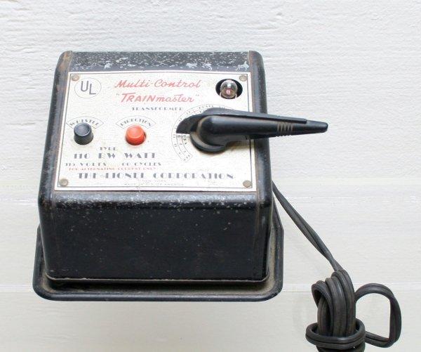 1001: Lionel Type RW 100 Watt Transformer O Gauge