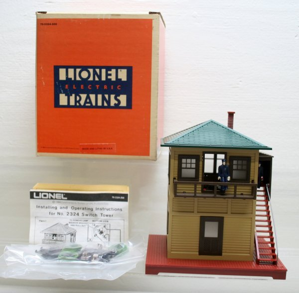 1003: Lionel 6-2324 Operating Switch Tower O Gauge