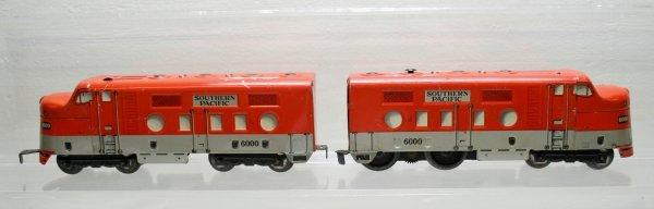 1020: Marx O-Gauge Southern Pacific 6000 Diesel Loco's