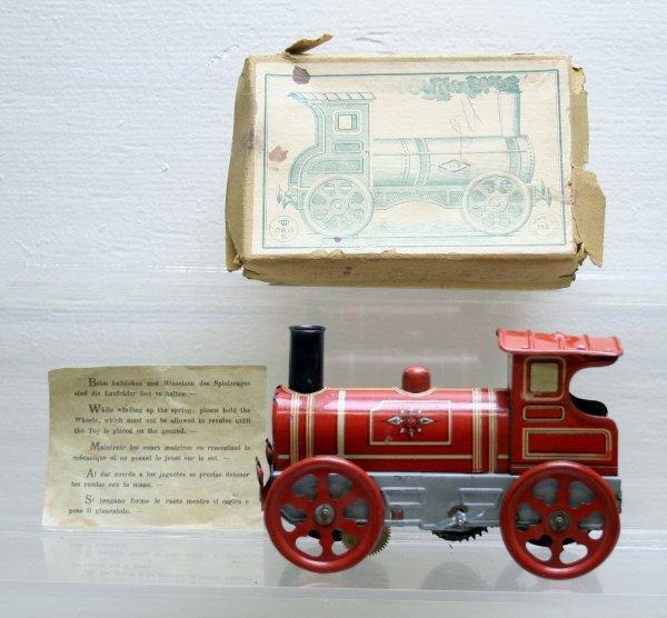 1144: ORO German Tinplate Windup Steam Loco