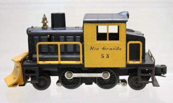 1187: Lionel O Gauge Postwar Rare 53 Snowplow