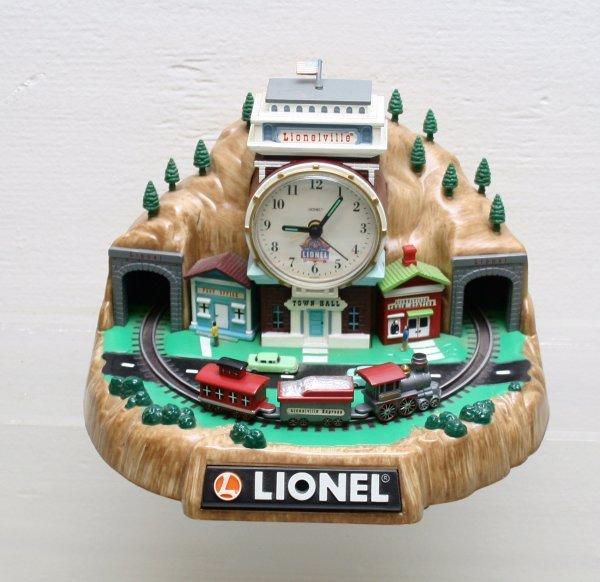 1202: Lionel 100 Anniversary Alarm Clock NIB