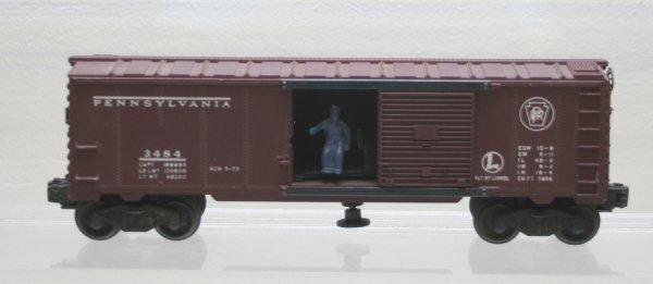 1206: Lionel O Gauge Postwar 3484 Boxcar