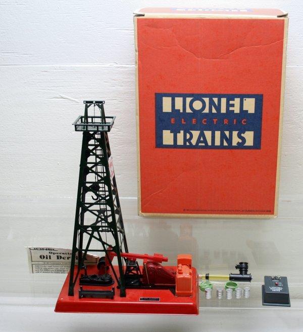 1207: Lionel O Gauge 2305 Oil Derrick