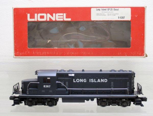 1209: Lionel O Gauge Long Island GP20 8367
