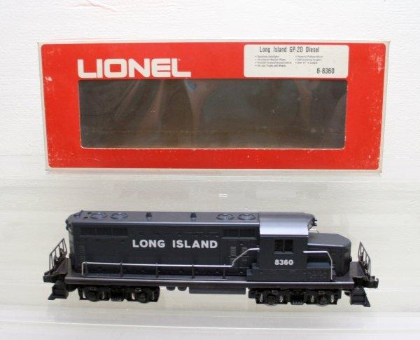 1210: Lionel O Gauge Long Island GP20 8360