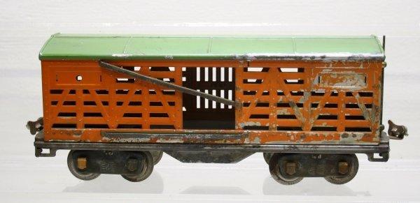 1212: Lionel Prewar Standard Gauge 513 Cattle Car