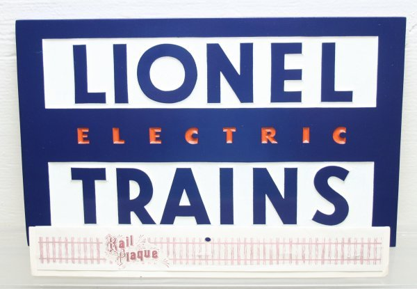 1217: Lionel Dealer Sign Made By Rail Plaques