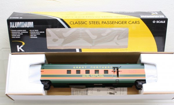 1306: K-Line O Gauge Great Northern Combine Car