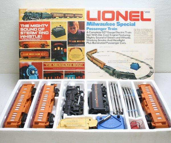 1348: Lionel O Scale 6-1387 Milwaukee Special Train Set