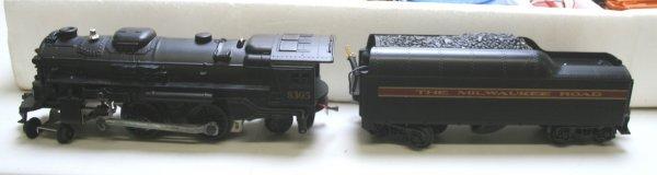 1348: Lionel O Scale 6-1387 Milwaukee Special Train Set - 2