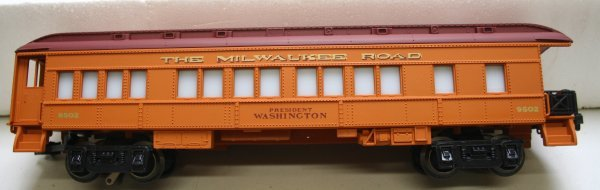 1348: Lionel O Scale 6-1387 Milwaukee Special Train Set - 3