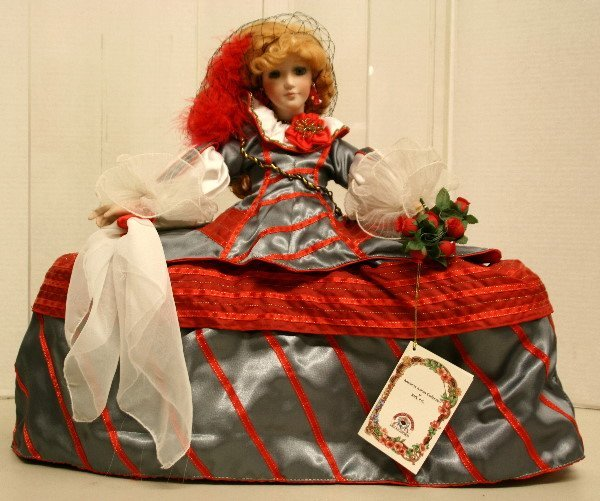 1500: Kais Porcelain Doll-American Artists Collection