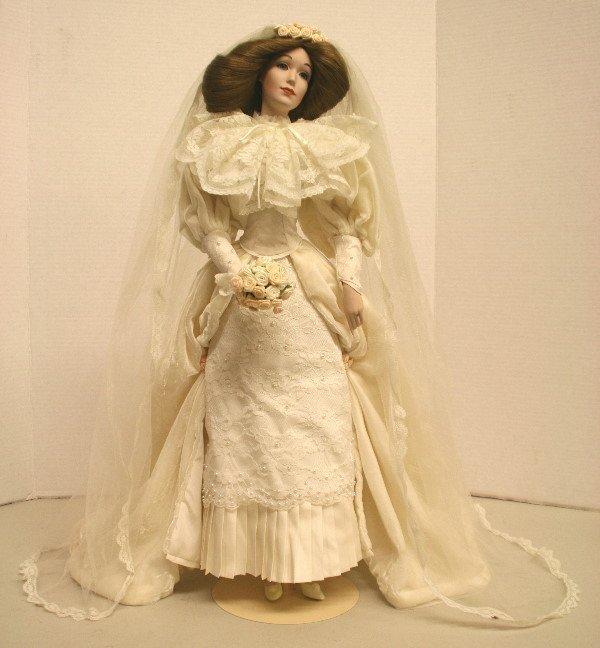 1505: Lenox Porcelain Bride Doll