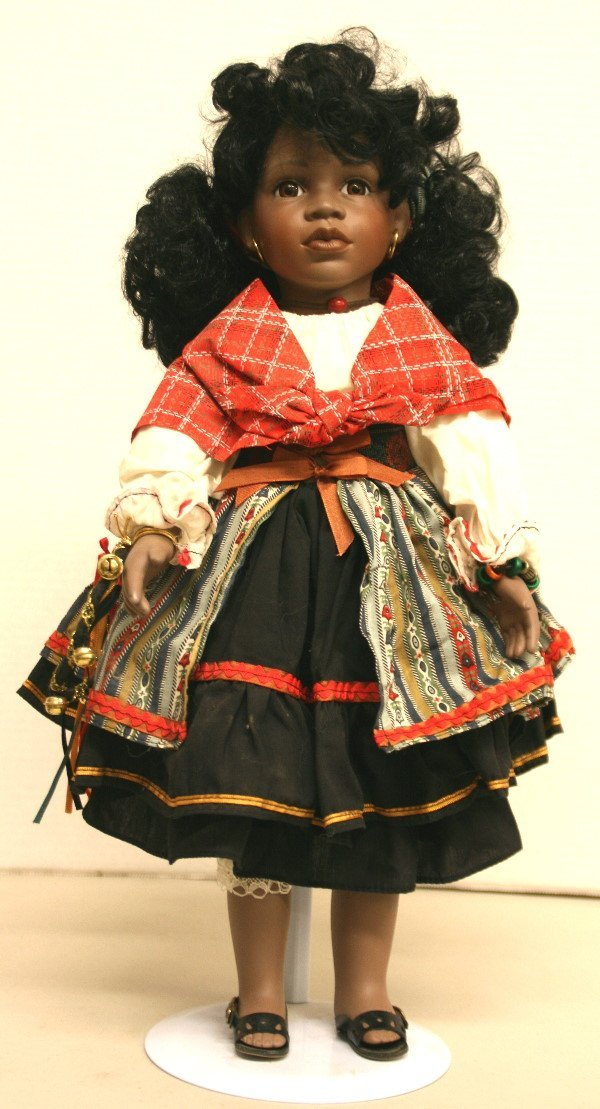 1506: Kwasi - Little Companion Collection Porcelain Dol