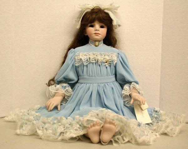 "1508: Martina 28 "" Porcelain Doll"