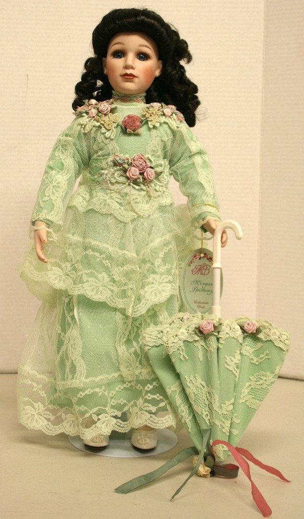1509: Morgan Britiany Porcelain Doll