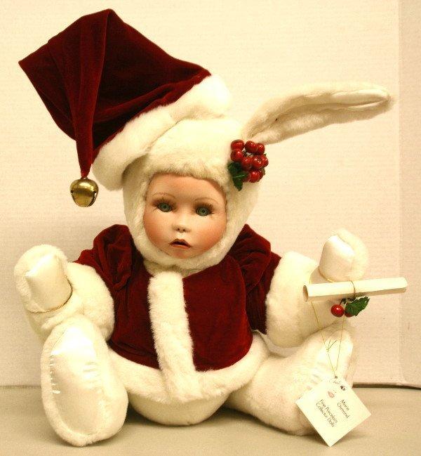 """1512: Santa Bunny """"Velveteen Rabbit"""" by Marie Osmond"""