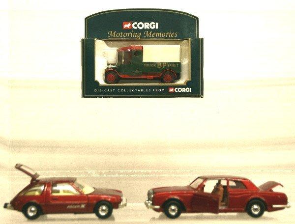 1519: Corgi Petrol Truck, Rolls-Royce Corniche car, Pac