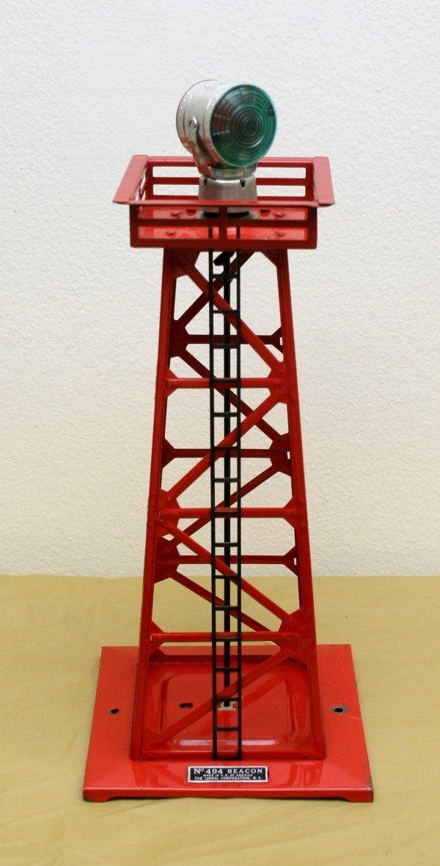 2600: Lionel O Gauge Postwar 494 Beacon Tower