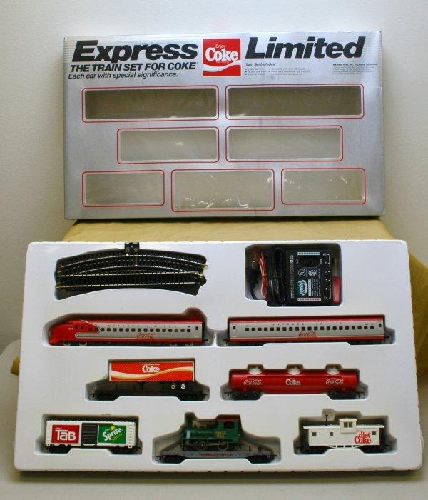 2602: Ho Gauge Coca Cola Express Limited Bullet Train S