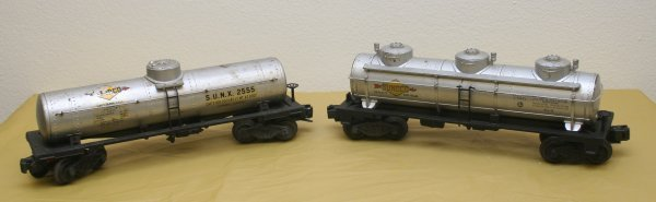2612: Lionel O gauge Postwar Tank Car Lot