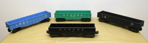 2619: Lionel O Gauge Gondola Lot