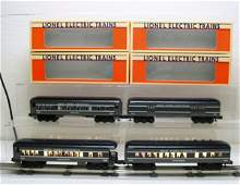 2666: Lionel O Gauge Passenger Car Set NYC