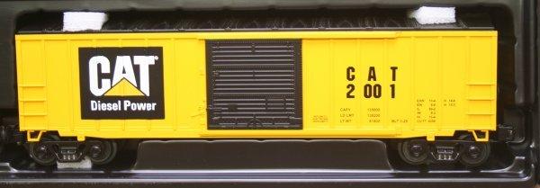 2698: MTH O Gauge Caterpillar Train Set 30-4053-1 - 5